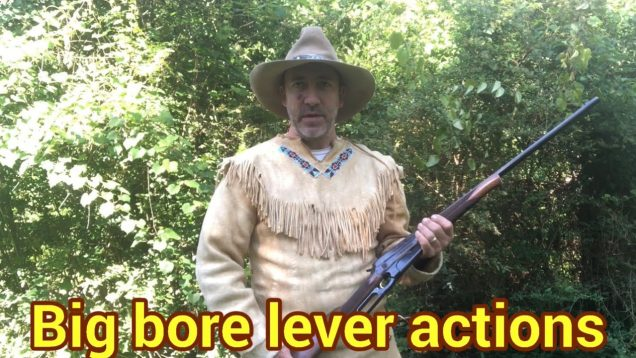 32 Special vs 405 Winchester vs 50-110, in Lever Action Rifles