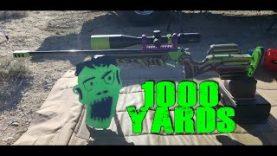 6mm BRM 1000 Yard TC Contender Zombie Kill