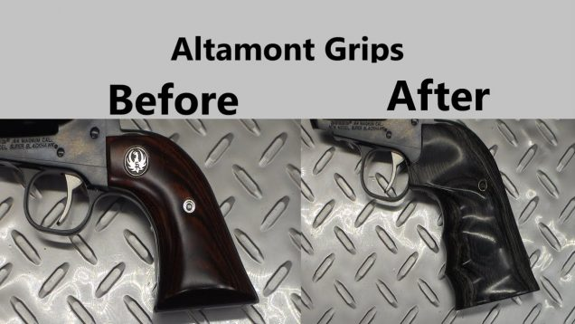 Altamont Grips for the Ruger Super Blackhawk