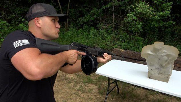 Full Auto AK-47 & AR-15 vs Ballistic Gel Dummy (Full Auto Friday)