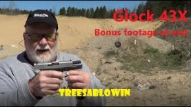 Glock 43X (extra video at END)