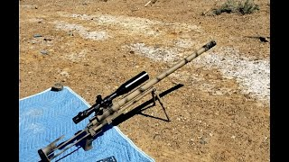 Jerry Shoots a 50BMG.  Jerry and Deadhorse Range Day!