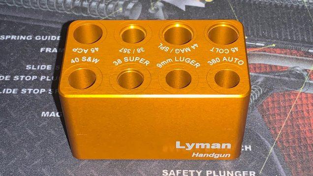 Lyman ammo checker