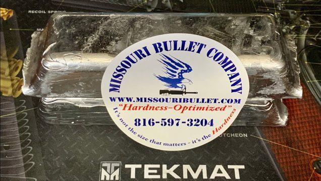 Missouri Bullet Company lead ingots