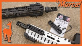 MLok and Keymod Adaptors for Every Occasion. From 'Murica! GrovTec!