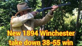 Part II 38-55 Winchester Model 94 Trails End Takedown Power & Accuracy