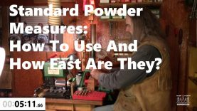 Standard Powder Measures: How To Use and How Fast Are They?
