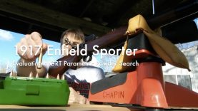 WCChapin | 1917 Enfield Sporter – Evaluating a GRT Parametric Powder Search