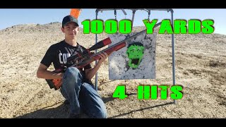 1000 Yard 7mm Practical Zombie Kill 4 Hits