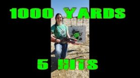 1000 Yard ZOMBIE Killing 5 Hits