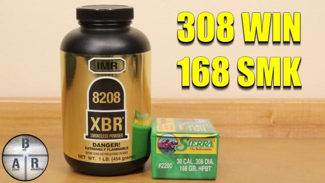 308 Winchester Load Development – 168 SMK with 8208 XBR