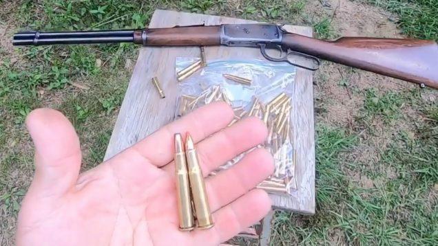 32 Win Special 94 Winchester brush gun. Flatnose 170 grain VS 165 grain FTX