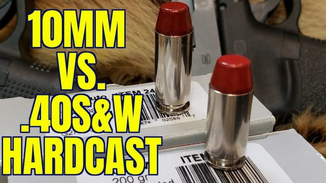 .40S&W vs 10mm for Woods Defense 200gr Underwood Hardacst