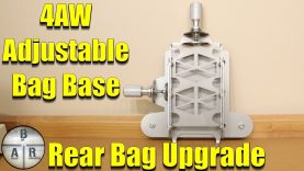 4AW Adjustable Bag Base – Improve your groups (precision shooting) – Rear Support Bag