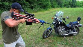 50 Cal vs Motorcycle ?