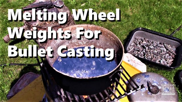 Melting Wheel Weights For Bullet Casting