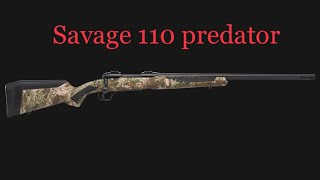 Savage 110 Predator