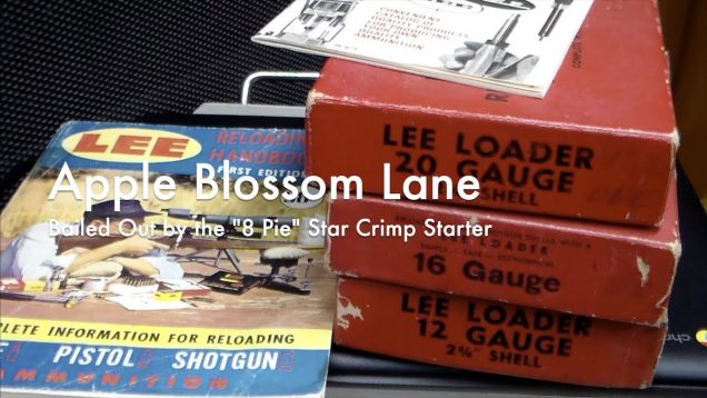 "WCChapin | Apple Blossom Lane – Bailed Out by the ""8 Pie"" Star Crimp Starter"