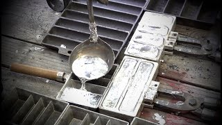 4th of July Melting Scrap Lead & Making Ingots (290lbs)