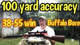 Buffalo Bore bullets vs my loads, 38-55 New 94 Winchester lever action