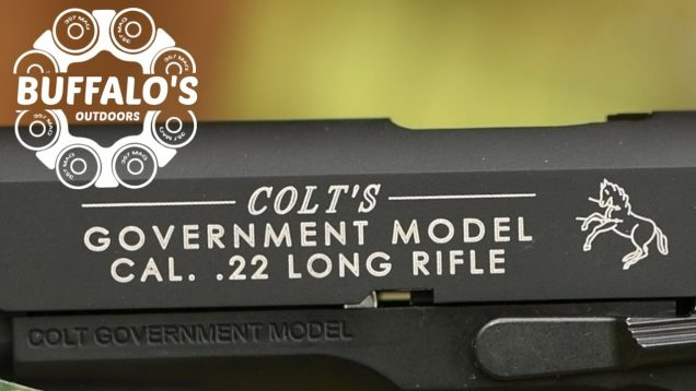 COLT'S GOVERNMENT MODEL 1911A1 .22 Long Rifle