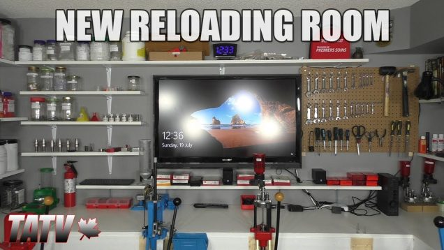 New Reloading Room Tour