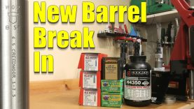 Precision Rifle New Barrel Break In – Initial Accuracy and What to Expect
