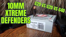 10mm Xtreme Defenders Glock 29 vs 20 vs 40