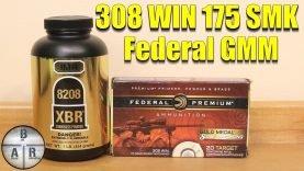 308 Winchester 175 SMK 8208 XBR – Federal GMM clone