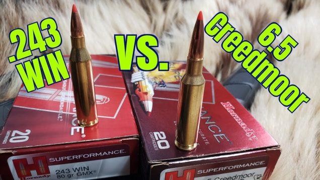 6.5 Creedmoor vs. 243 Winchester