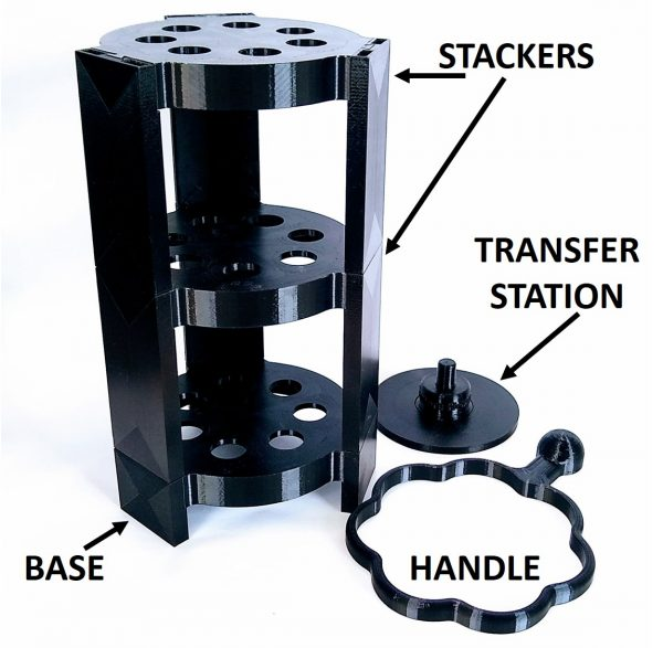 Stacker - Turret Head Stacking System - Lyman All-American 8 1