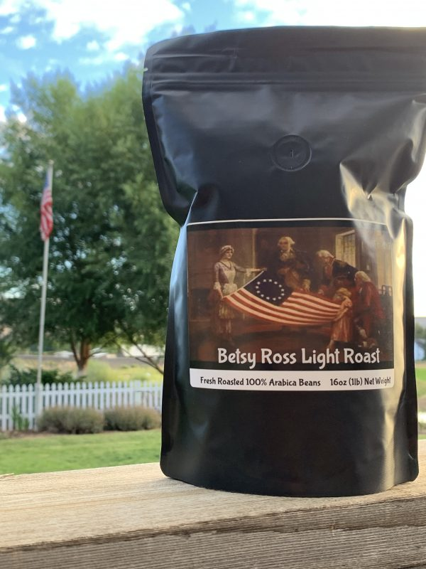 Betsy Ross Light Roast Whole Bean Coffee 1