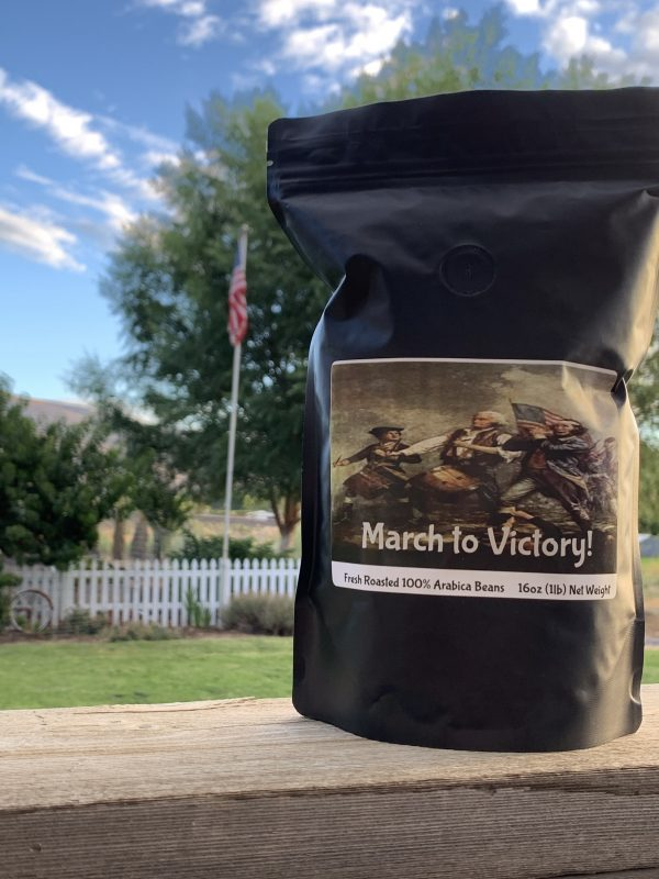 March to Victory Med/Dark Roast Whole Bean 1