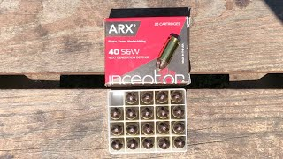 ARX Inceptor performance test