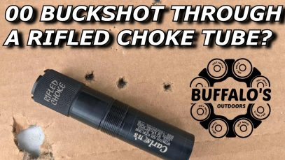 BUCKSHOT THROUGH A RIFLED CHOKE?