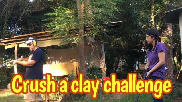 Crushaclaychallenge! father daughter challenge