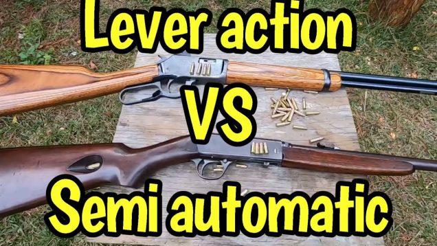 Lever Action VS semi automatic 22 rimfire
