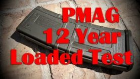 MAGPUL PMAG – Loaded With Ammo for 12 Years TEST!  (No Dust/Impact Cover)