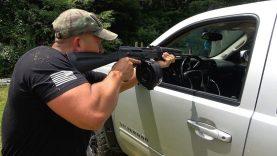 Shooting Through My Truck 🚚 (Full Auto Friday)