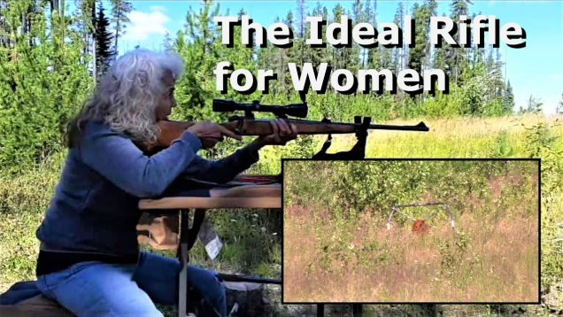 The Ideal Rifle for Women: 243 Winchester