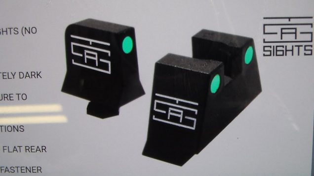 TSA Glock Suppressor Night Sights