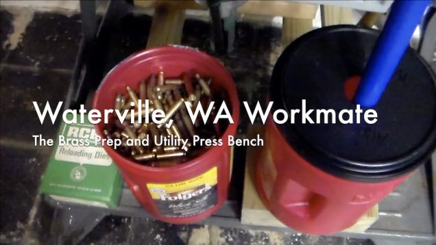 WCChapin | Waterville Washington Workmate – The Brass Prep and Utility Press Bench