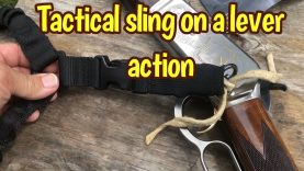 XTS 1 point quick detach sling on a 1886 lever action