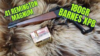 10 Inch 41 Magnum Barnes 180gr XPB