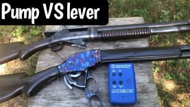 1897 Pump Action versus 1887 Lever Action Shotguns