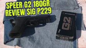 .40 S&W 180gr Speer G2 Sig P229 Review