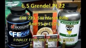 6.5 Grendel Pt22 – Harrell's Tuner Break, CFE 223, Shooter's World Match, and Mount Issues Solved!