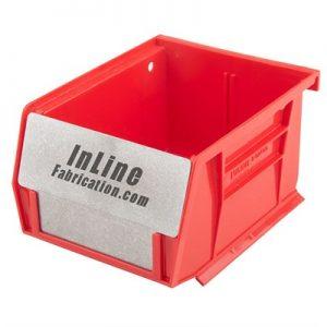 Inline Fabrication Bullet Bin Barriers