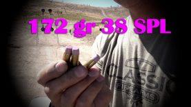 Heavy 172 gr. 38 SPL Loads