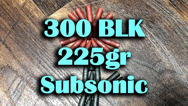 Lead Taco Redux – 300BLK Coated Cast Lead 225gr Subsonic